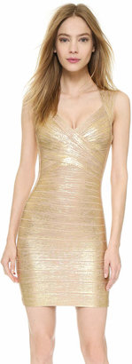 Herve Leger Iman Dress $1,350 thestylecure.com