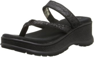 Roper Women's Croco and Straps Wedge Sandal