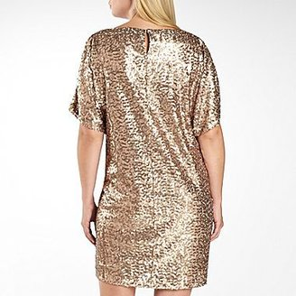 JCPenney Wedge Sequin Dress-Plus Sizes