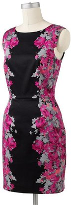 Elle floral sheath dress