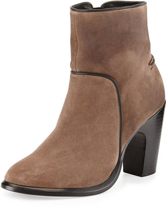 Rag and Bone Rag & Bone Grayson Suede Ankle Boot, Taupe