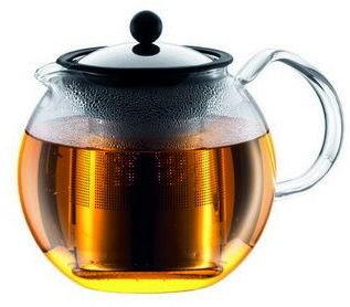 Bodum Assam Tea Press Stainless Steel Filter 8 Cup