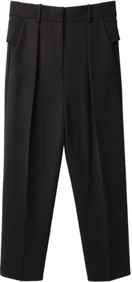 Alexander Wang Cropped Snap-Belt Pant