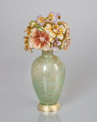 Jay Strongwater Bouquet Perfume Bottle