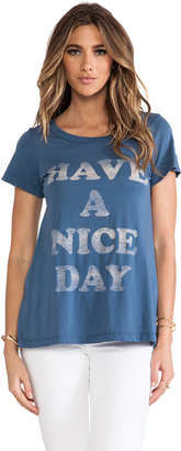 "Rebel Yell x REVOLVE ""Have A Nice Day"" Classic Crew Tee"