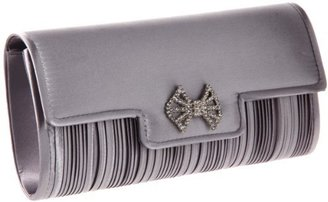 Tianni Magid 99137 Clutch,Silver,One Size