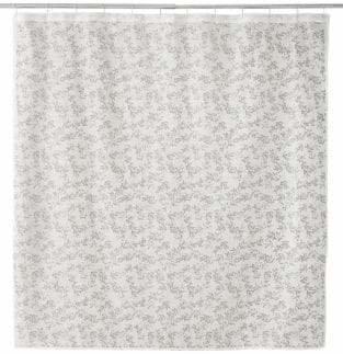 Famous Home Fashions Alexa Burnout Shower Curtain