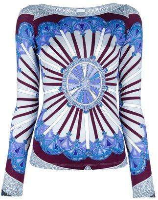 Emilio Pucci pattern top