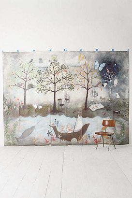 Mural Rebecca Rebouche Enchanted Forest