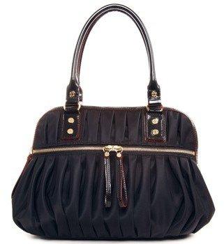 "M Z Wallace Bea"" Black Nylon Handbags"