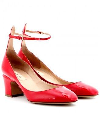 Valentino Tan-go patent-leather pumps