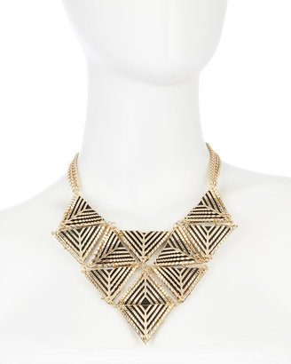 Fragments for Neiman Marcus Geometric Bib Necklace