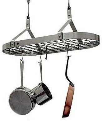 Enclume Stainless Steel Pot Rack with Grid