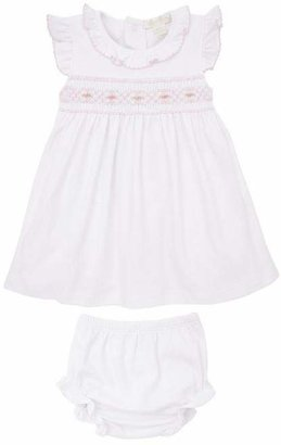 Kissy Kissy Clb Summer 20 Hand-Smocked Dress Set 0-18 Months