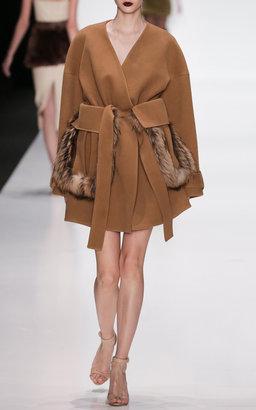 Ruban Camel Kimono Coat
