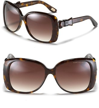 Marc Jacobs Oversized Squared Fade Sunglasses