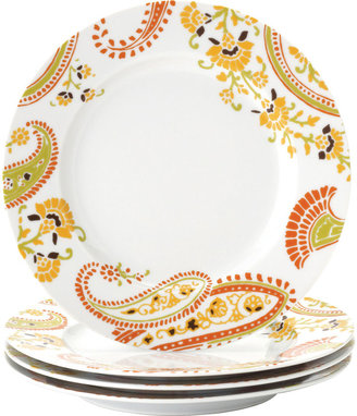 Rachael Ray Set of 4 Paisley Salad Plates
