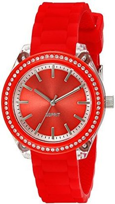 ESPRIT Women's ES900672008 Play Glam Coral Analog Watch $130 thestylecure.com