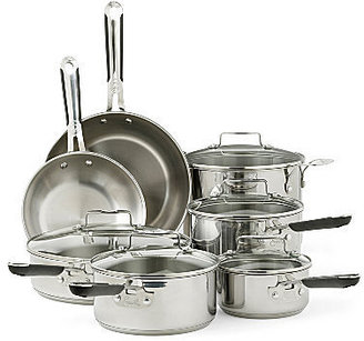 JCPenney CLOSEOUT! Emeril 12-pc. Stainless Steel Cookware Set + BONUS