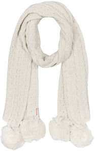 Hunter Women's Cable Scarf - Ivory
