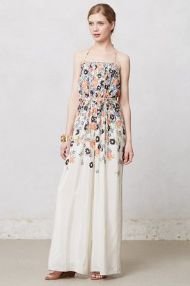 Anthropologie Tupsa Pleated Jumpsuit