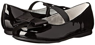 Nina Pegasus-T (Toddler/Little Kid) (Black Patent) Girl's Shoes