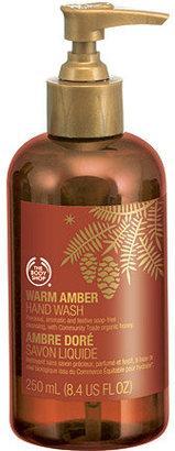 The Body Shop Warm Amber Hand Wash
