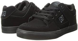 DC Kids Pure (Little Kid/Big Kid) (Black/Pirate Black) Boys Shoes