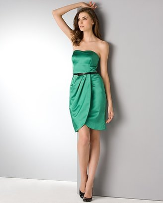 "Coast ""Sweetlife"" Belted Strapless Dress"