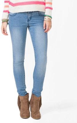Forever 21 Four Pocket Skinny Jeans