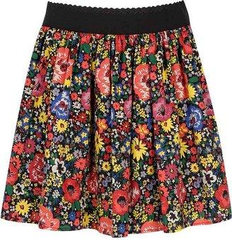 Forever 21 Paradise Floral Print Skirt