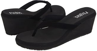Flojos Olivia (Black) Women's Sandals