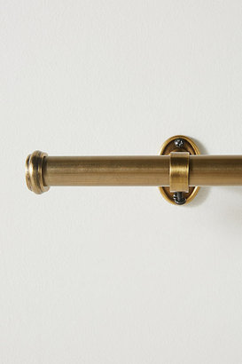 Anthropologie Smithery Curtain Rod By in Brown Size 10