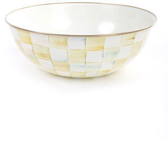 Mackenzie Childs MacKenzie-Childs Parchment Check 24-Cup Everyday Bowl