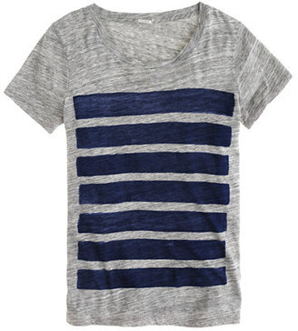 J.Crew Bar-stripe tee