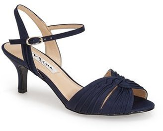 Nina 'Camille' Pleated Sandal (Women) $84.95 thestylecure.com