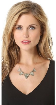 House Of Harlow Metallic Flatpick Necklace
