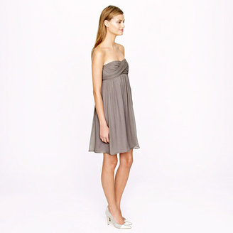 J.Crew Taryn dress in silk chiffon