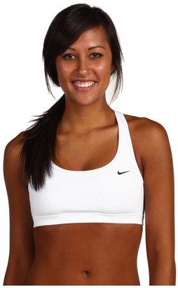 Nike Indy Racerback Bra (White/White/Black) - Apparel