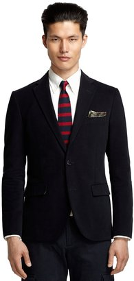 Brooks Brothers Milano Fit Brushed Twill Navy Sport Coat