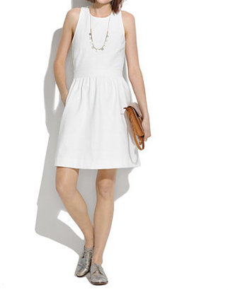 Madewell Pierside Zip-Back Dress