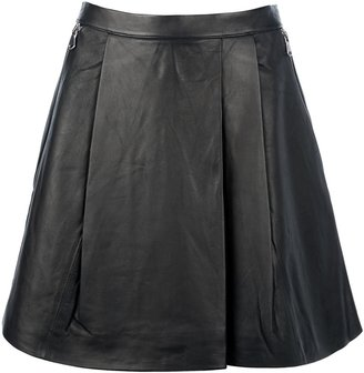 Marc by Marc Jacobs Lamb skin skirt