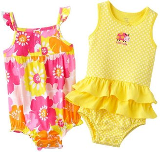 Carter's 2-pk. floral sunsuits - baby