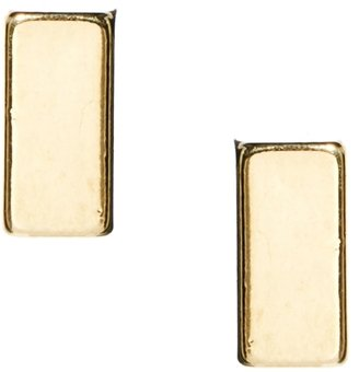 French Connection Cuboid Stud Earring