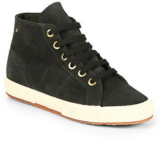 Superga THE ROW FOR Corduroy High-Top Sneakers
