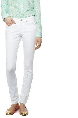 C. Wonder Stretch Skinny White Jean