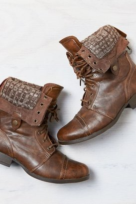 American Eagle Outfitters Brown Lace-Up Boot