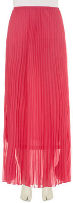 Dorothy Perkins Hot pink pleated maxi skirt