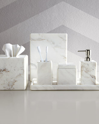 Horchow Marble Vanity Accessories