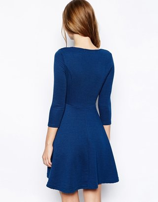 Yumi Loves London Skater Dress with Long sleeves